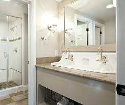 trough sink two faucets bathroom sink two faucets trough sink with 2 faucets design ideas