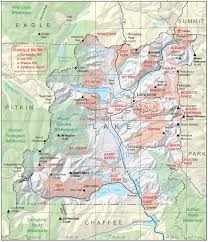 County Map Of Colorado by Lake County Colorado Geological Survey
