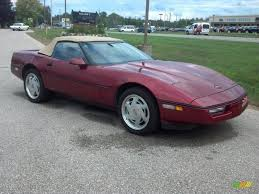 1989 corvette convertible 1989 metallic chevrolet corvette convertible 83884333
