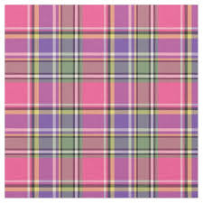 hot pink and purple vintage plaid fabric zazzle