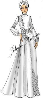 desain baju pesta muslimah abayas and