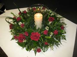 Christmas Hurricane Centerpiece - lantern floral centerpieces hurricane lamp centerpieces can also
