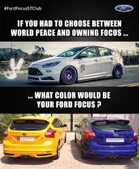 Ford Focus Meme - what was your first reaction in ford focus st we are waiting
