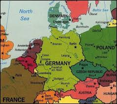 geographical map of germany germany denmark and sweden god s geography