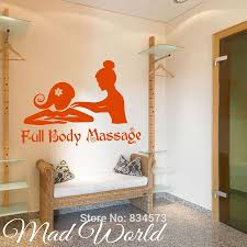 online get cheap massage wall art aliexpress alibaba group mad world beauty salon full body massage wall art stickers decal home diy decoration mural removable decor