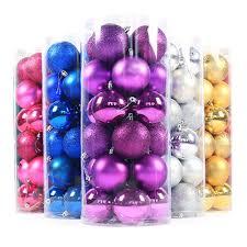 online get cheap glitter christmas ornaments aliexpress com