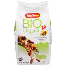 familia bio organic swiss bircher muesli 16 oz 453 g iherb com