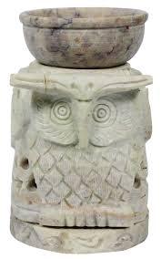 source owl shaped 4 5 u201d gorara stone essential oil diffuser in bulk