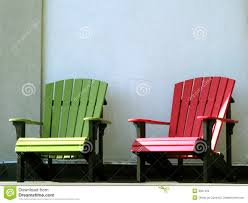 Colored Adirondack Chairs Outdoor Furniture Adirondack Chairs On House Porch Stock Images