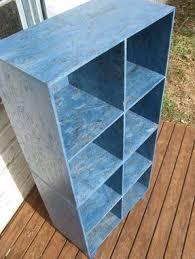 Blue Bookcases Custom Blue Osb Cubby Bookcases By Modular Osb Custommade Com