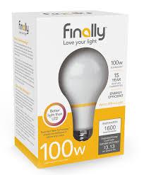led light bulb 100 watt equivalent 100 watt replacement tesla technology light bulb u2013 finally light