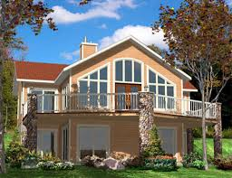 sloped lot house plans walkout basement best 25 walkout
