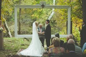 wedding backdrop trends a backyard barn wedding in the woods bud backdrops