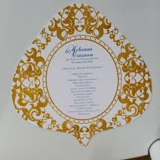 fan programs for weddings fan wedding programs