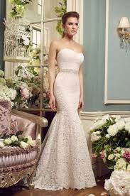 wedding dress mikaella fit and flare wedding dress kleinfeld bridal