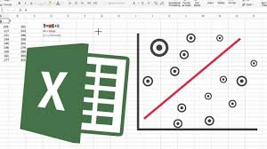 how to fit a simple linear regression in excel 2017