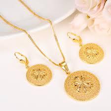 pendant necklace set images Bangrui new fashion ethiopian jewelry set pendant necklace jpg