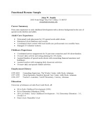 Functional Resume Templates Free Cover Letter Free Functional Resume Templates Free Sample
