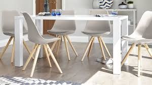 Gloss Dining Tables Modern White Gloss Dining Table 6 Seater Table Uk