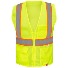 Construction High Visibility Clothing Hi Vis Shirts Hi Vis Workwear Red Kap Construction