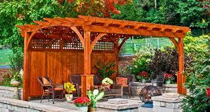 Pre Built Pergolas by Elegant Pergola With Lattice Roof 66 With Pergola With Lattice