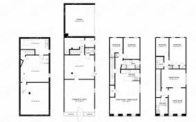 Typical Brownstone Floor Plan Mixed Use Property A Residential Commercial Hybrid Brownstoner
