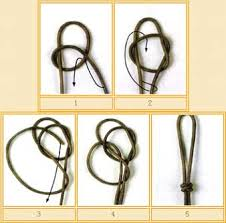 knot tie necklace images Double connection knot tutorials how to tie jpg