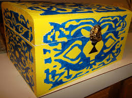 Legend Of Zelda Bedroom Diy Ocarina Of Time Boss Key Chest Frommetolu