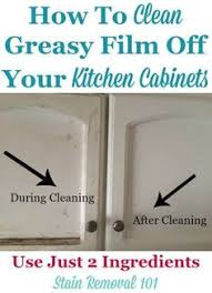 cleaning greasy kitchen cabinets secret to cleaning gunky kitchen cabinets baking soda soda and spoon