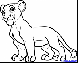 lion king coloring pages nala eliolera com