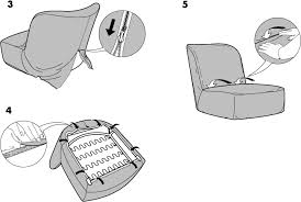 easy chair covers ikea ikea stockholm easy chair cover assembly