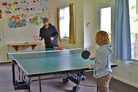 ping pong table playing area games room with pool and ping pong coombe mill