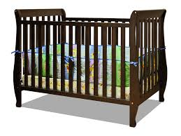 Convertible Cribs With Toddler Rail by Amazon Com Athena Naomi 4 In 1 Crib With Toddler Rail Espresso
