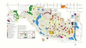 Usa Campus Map by Campus Map Utep Online Visitor U0027s Guide