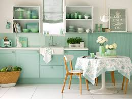 Blue Green Kitchen - trend alert pastel trend in home decor home stories a to z