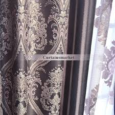and charming european purple patterned curtains
