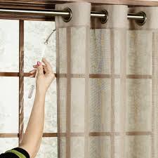 Patio Door Curtain Rod Bal Harbour Semi Sheer Grommet Patio Panel