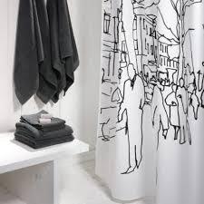 Marimekko Shower Curtains Scandinavian Design Bathroom