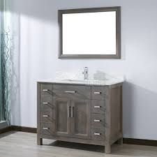 46 inch vanity cabinet kelly 42 inch french gray finish bathroom vanity http www