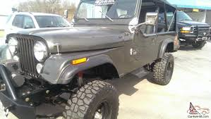 jeep scrambler custom jeep scrambler restored 5 years ago 6 passenger cj 8
