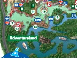 Map Of Walt Disney World by Adventureland Interactive Map Disney World Youtube