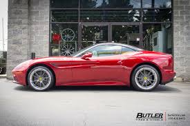 Ferrari California Custom - ferrari california with 20in hre s104 wheels exclusively from