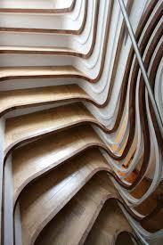 interior exotic unique wood stairs design idea interior design
