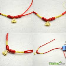 knot tie necklace images Diy baby accessories a handmade string chain for a gold necklace jpg