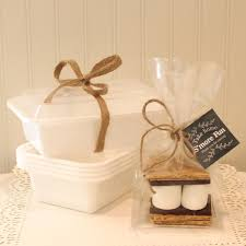 smores wedding favors s mores party favor kits 25 s mores favor kits with