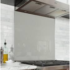 cuisine nuage fond de hotte gris nuage verre alu credence cuisine deco