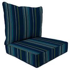 Sunbrella Bistro Chair Cushions Amazon Com Sunbrella Stanton Lagoon 24 Inch X 24 Inch 2 Piece