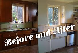 kitchen makeover on a budget ideas kitchen before and after revictorian