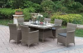 Patio 7 Piece Dining Set - jb patio 7 piece dining set u0026 reviews wayfair