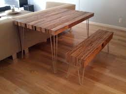 Making A Wood Desktop by How To Make A Reclaimed Wood Table And Bench U2014 Most Popular Posts